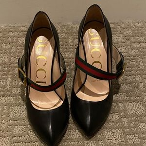 Gucci Sylvie leather pumps in perfect condition